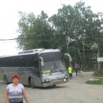 Водители автобуса в Сосьву возмущены ужасной дорогой
