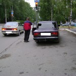 В центре Серова грабители напали на таксиста