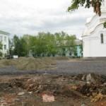С площади поселка Энергетиков исчез Ленин