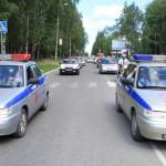Автопробегом в Серове отметили 75-летие ГИБДД (фото)