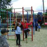 В центре Серова появилась новая детская площадка