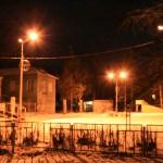 В Серове установили натриевые лампы для уличного освещение