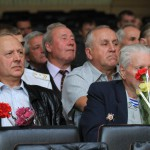 Ветераны-железнодорожника получили цветы и грамоты к празднику