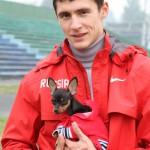 Павел Тренихин бежит за Россию на чемпионате мира
