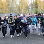 Школьники из поселка Энергетиков выявили сильнейших бегунов