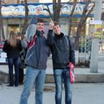 В Серове прошел флешмоб против курения
