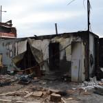 В поселке Лесозавод при пожаре погиб мужчина