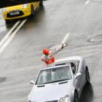 Пять серовчан превратились из водителей в пешеходов за 3 дня
