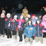 Байкеры привезли подарки и фейерверк в  Серовский детский дом-школу