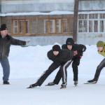 Конькобежцы из Серова оказались далеко за пределами призовой тройки