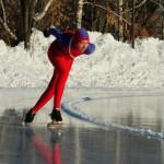 Конькобежка из Серова Ульяна Кудленко победила на областном турнире