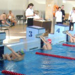 Школьники соревновались на водных дорожках в Серове