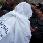 На Красной площади в Москве прошла «белая» прогулка