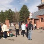 На Радоницу жители Серова побывали на могилах близких
