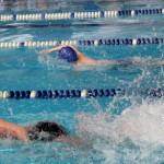 В Серове школьники соревновались в плавании