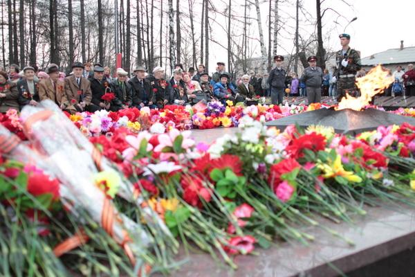 День Победы в Серове 9 мая 2012