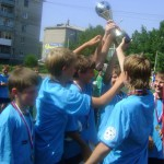 В Серове прошел детский футбольный турнир Дениса Паслера