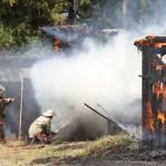 В Серове было четыре пожара в один день. В двух случаях подозревают поджог
