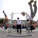 В Серове состоялся первый фестиваль по street workout