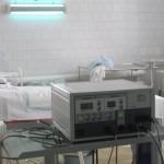 Медтехника заняла свое место в операционной родильного отделения. Фото Михаила Бобкова.