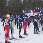 Лыжня России-2013 в Серове: старт самых быстрых.  Фото Ирины Ирлиной.