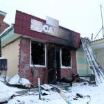 В Серове сгорели магазин и кафе