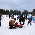 Серов со всей Россией пробежал по лыжне (фото и видео)