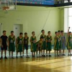 В Серове прошли товарищеские матчи по баскетболу