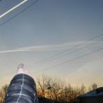 В Серове наблюдают метеоритный дождь