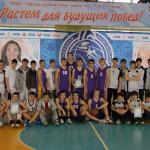 Серовская команда заняла первое место в школьной баскетбольной лиге