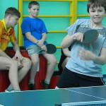 """И теннис """"малый"""", и участники невелики, но стремление к победе у участников  было огромное. Фото Веры Теляшовой."""