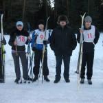 В Серове ветераны и молодежь бежали на лыжах в честь
