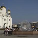 Преображенская площадь одно из любимых мест отдыха горожна в летнее время. Фото: с сайта bg.wikipedia.org