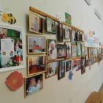 В детской поликлинике Серова открыта фотовыставка дочки и сыночки