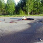 В Серовском районе перевернулись две машины. Пострадал 4-летний ребенок