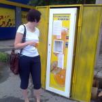 В Серове устанавливают автоматы по продаже газированной воды