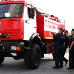 В Серовском округе появятся четыре новые пожарные машины
