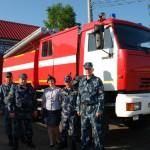 В колонию Сосьвы пригнали новый пожарный автомобиль