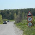 В Серове грузовики приводят в негодность дороги поселков Филькино и Новая Кола