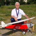 Серовчанин стал двухкратным чемпионом России по авиамодельному спорту