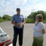На дорогах Серова с нарядом ДПС дежурил член Общественного совета при отделе полиции