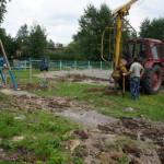 В Серове строится площадка для Street Workout