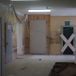 В Серовской поликлинике № 1 ремонтируют холл