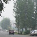 Серов накрыт дымом от лесных пожаров в ХМАО