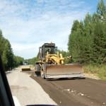 На дороге в Сосьву капитально ремонтируют 10 километров покрытия