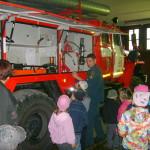 Экскурсия в пожарную часть Серова. Фото предоставлено сотрудниками пожарной части