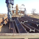Серовские «транспортные» полицейские задержали подозреваемых в хищении 3,5 тонны рельсов