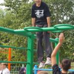 В Серове открыли площадку для Street Workout