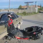 В поселке Сосьва произошло ДТП с участием иномарки и скутера
