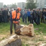 В Серове выберут лучшего вальщика леса